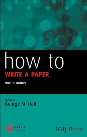 How to Write a Paper, 4th Edition
