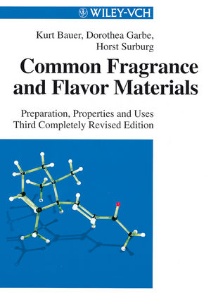 Common Fragrance and Flavor Materials: Preparation, Properties and Uses, 3rd Edition (3527612378) cover image