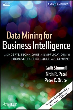 Data Mining for Business Intelligence: Concepts, Techniques, and Applications in Microsoft Office Excel� with XLMiner�, 2nd Edition (EHEP002378) cover image