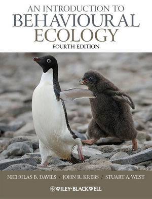 An Introduction to Behavioural Ecology, 4th Edition (EHEP002678) cover image