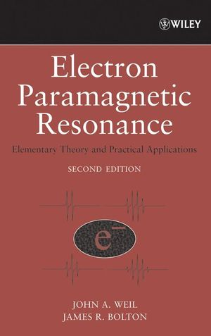 Electron Paramagnetic Resonance: Elementary Theory and Practical Applications, 2nd Edition (0470084979) cover image