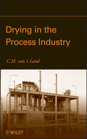 Drying in the Process Industry (0470131179) cover image