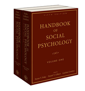 Handbook of Social Psychology, 2 Volume Set, 5th Edition