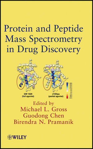 Protein and Peptide Mass Spectrometry in Drug Discovery (0470258179) cover image