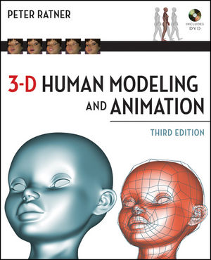 3-D Human Modeling and Animation, 3rd Edition (0470396679) cover image