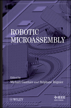 Robotic Micro-Assembly (0470484179) cover image