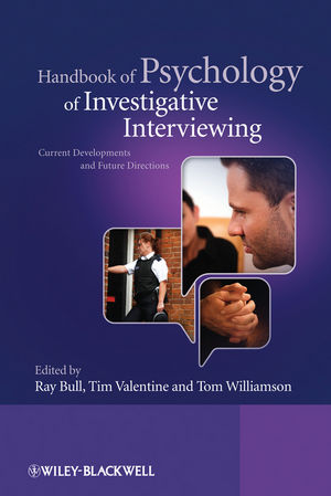 Handbook of Psychology of Investigative Interviewing: Current Developments and Future Directions (0470512679) cover image