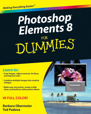 Photoshop Elements 8 For Dummies (0470529679) cover image