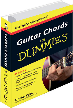 Guitar Chords for Dummies (0470666579) cover image