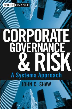 Corporate Governance and Risk: A Systems Approach (0471445479) cover image