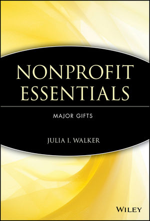 Nonprofit Essentials: Major Gifts (0471738379) cover image