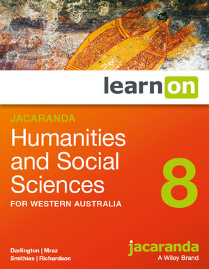 Jacaranda Humanities and Social Sciences 8 for Western Australia learnON (Online Purchase)