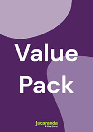 JACARANDA RETROACTIVE 1 STAGE 4 NSW AUS CURRIC 2E LEARNON & PRINT + MY WORLD HISTORY ATLAS AUS CURRIC 1 YEAR CODE (REG CARD) VALUE PACK