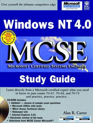 Windows NT 4.0 MCSE Study Guide (0764530879) cover image