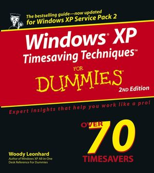 Windows XP Timesaving Techniques For Dummies, 2nd Edition