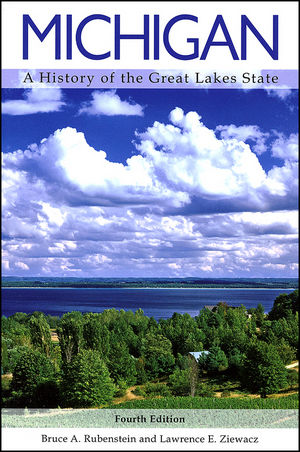 Michigan: A History of the Great Lakes State, 4th Edition (0882952579) cover image