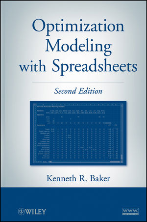 Optimization Modeling with Spreadsheets, 2nd Edition (1118008979) cover image