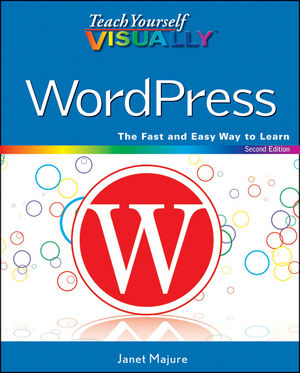 Teach Yourself VISUALLY WordPress, 2nd Edition (1118197879) cover image