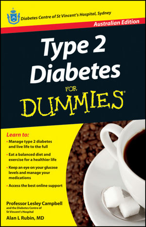 Type 2 Diabetes For Dummies Australian Edition (1118340779) cover image