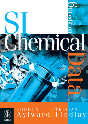 SI Chemical Data, 6th Edition + E-Text Registration Card