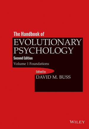The Handbook of Evolutionary Psychology, Volume 1: Foundation, 2nd Edition (1118755979) cover image