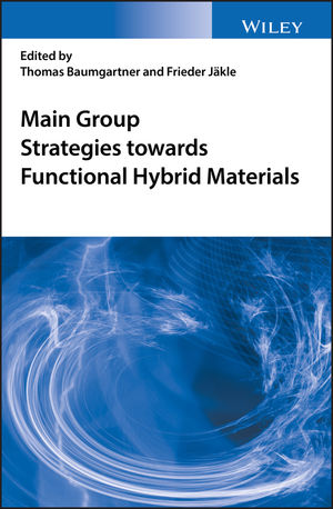 Main Group Strategies for Functional Hybrid Materials (1119235979) cover image
