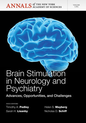 Brain Stimulation in Neurology and Psychiatry: Advances, Opportunities, and Challenges, Volume 1265 (1573318779) cover image