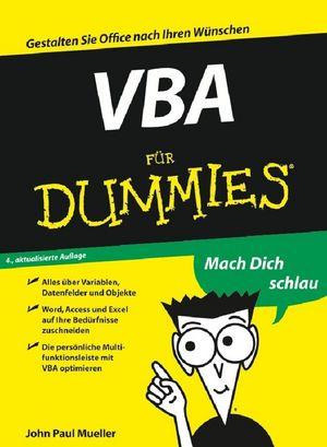 VBA für Dummies, 4th Edition