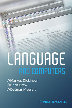 Language and Computers (EHEP002779) cover image