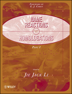 Name Reactions for Homologation, Part 1 (047008507X) cover image
