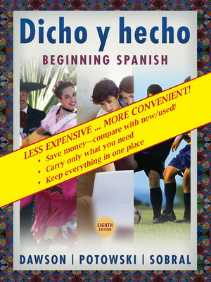 Dicho y Hecho: Beginning Spanish, Binder Ready Version, 8th Edition