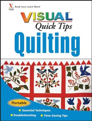 Quilting VISUAL Quick Tips (047040647X) cover image