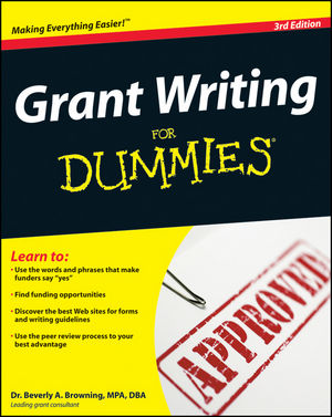 Grant Writing For Dummies, 3rd Edition