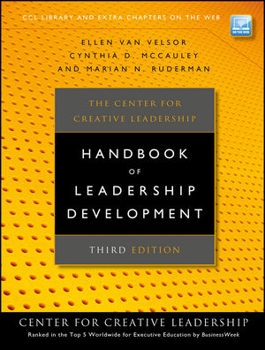 The Center for Creative Leadership Handbook of Leadership Development, 3rd Edition (047057027X) cover image