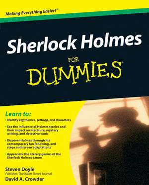 Sherlock Holmes For Dummies (047064737X) cover image