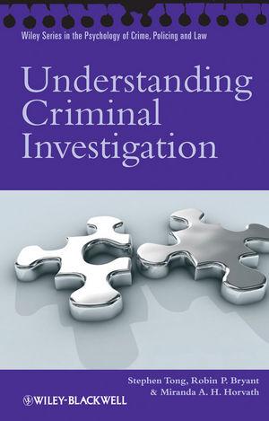Understanding Criminal Investigation (047068237X) cover image