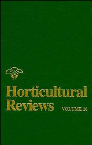 Horticultural Reviews, Volume 16 (047157337X) cover image