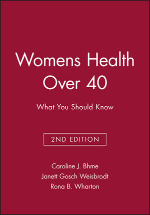 Womens Health Over 40: What You Should Know (063204537X) cover image