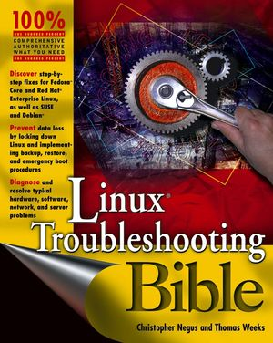Linux Troubleshooting Bible (076456997X) cover image