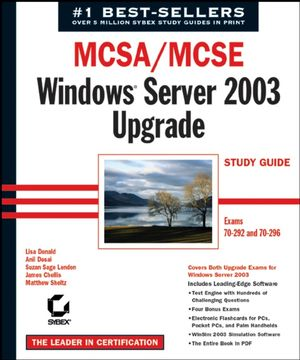 MCSA / MCSE: Windows Server 2003 Upgrade Study Guide: Exams 70-292 and 70-296 (078215137X) cover image