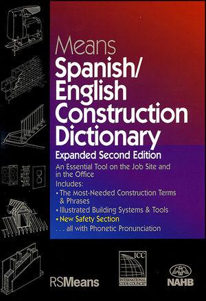 Means Diccionario Inglés/Español de la Construcción, Nueva Edición Ampliada y Revisada (087629817X) cover image