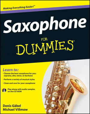 Saxophone For Dummies (111808487X) cover image