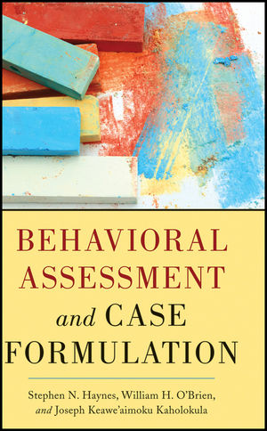 Behavioral Assessment and Case Formulation (111809977X) cover image
