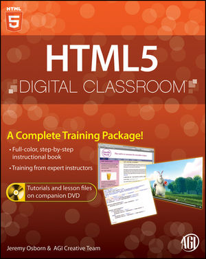 HTML5 Digital Classroom (111812877X) cover image