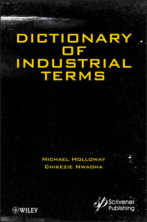 Dictionary of Industrial Terms (111834457X) cover image