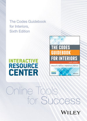 The Codes Guidebook for Interiors, 6e Interactive Resource Center Access Card (111899017X) cover image