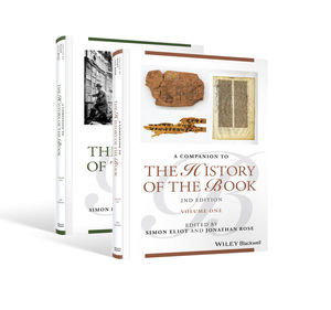 Companion to the History of the Book, 2nd Edition