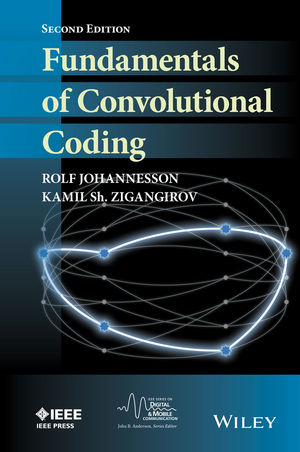 Fundamentals of Convolutional Coding, 2nd Edition (111909867X) cover image