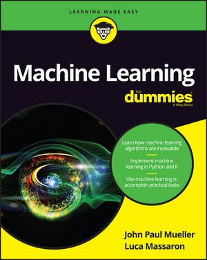 Machine Learning For Dummies (111924577X) cover image