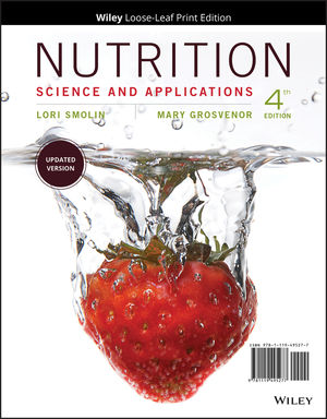 Nutrition: Science and Applications, Loose-Leaf Print Companion, 4th Edition